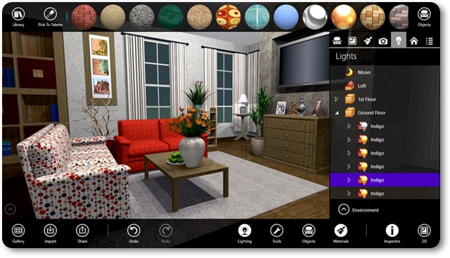 Live interior 3d free download for Programa para decorar interiores online