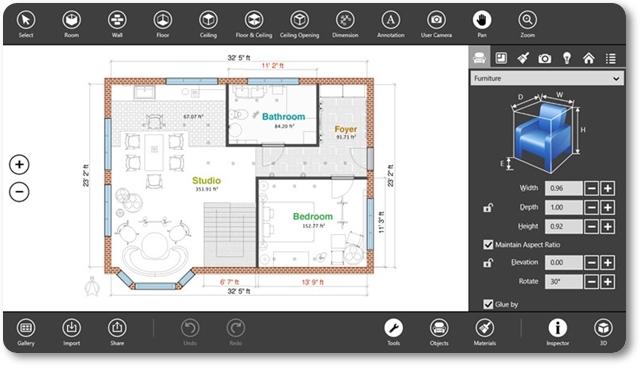 Live Interior 3D Free - Imagem 1 do software