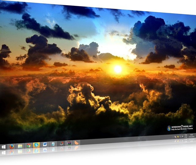 Clouds Windows 7 Theme