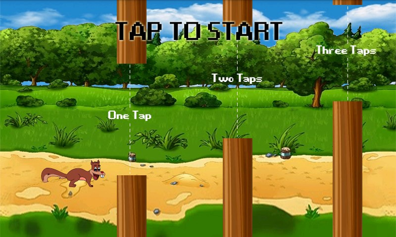 The Jumping Squirrel - Imagem 1 do software
