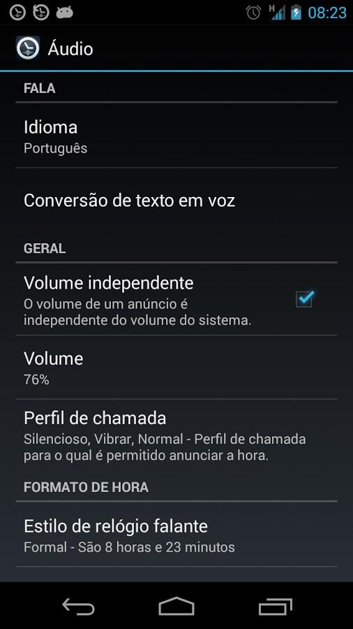 a3229eff472 Relógio falante  TellMeTheTime Download para Android Free