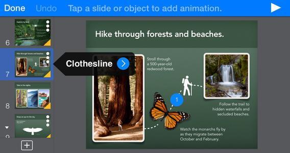 Keynote - Imagem 3 do software