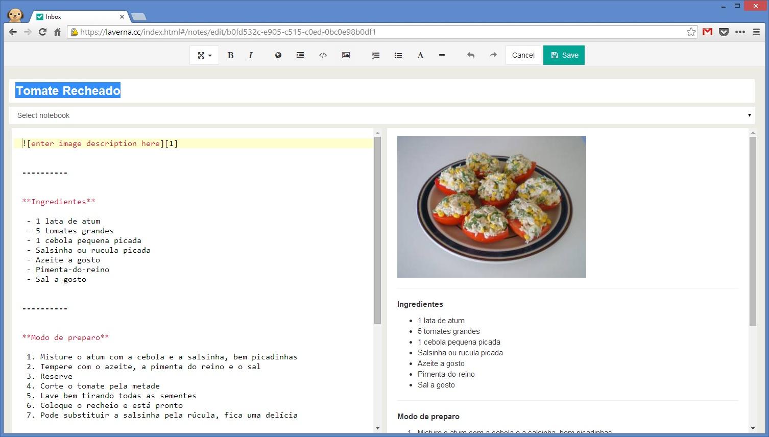 Laverna - Imagem 1 do software