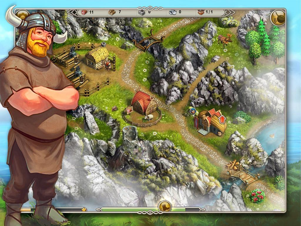 Viking Saga: The Cursed Ring - Imagem 1 do software
