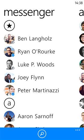 Facebook Messenger - Imagem 1 do software