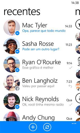 Facebook Messenger - Imagem 2 do software
