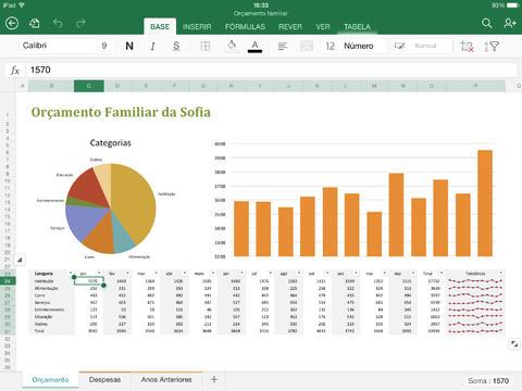 Microsoft Excel - Imagem 1 do software