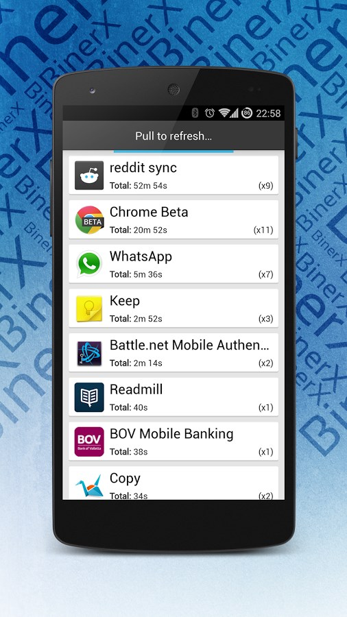 Aptrax   App Usage Tracker - Imagem 1 do software