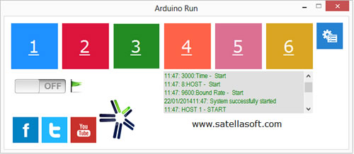 Arduino Run - Imagem 1 do software