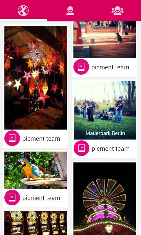 Picment: Photo, Voice & Sounds - Imagem 2 do software