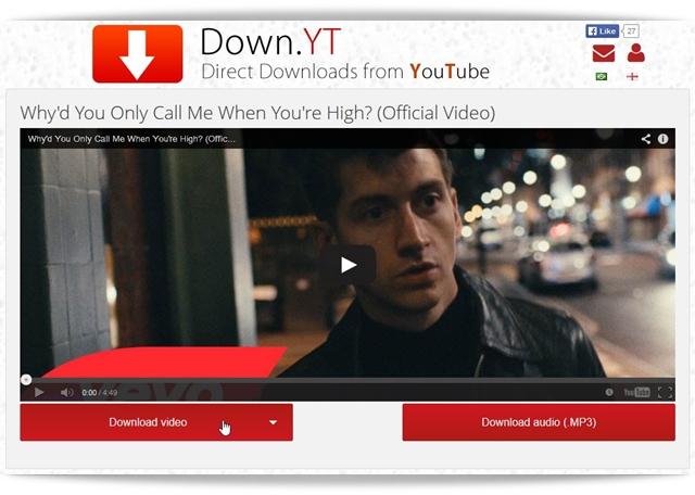 Down.YT - Imagem 1 do software