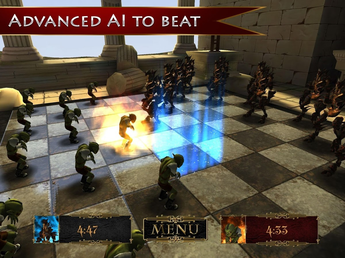 Fantasy Checkers: Board Wars - Imagem 1 do software