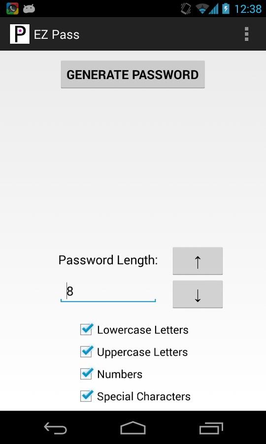 EZ Pass - Imagem 1 do software