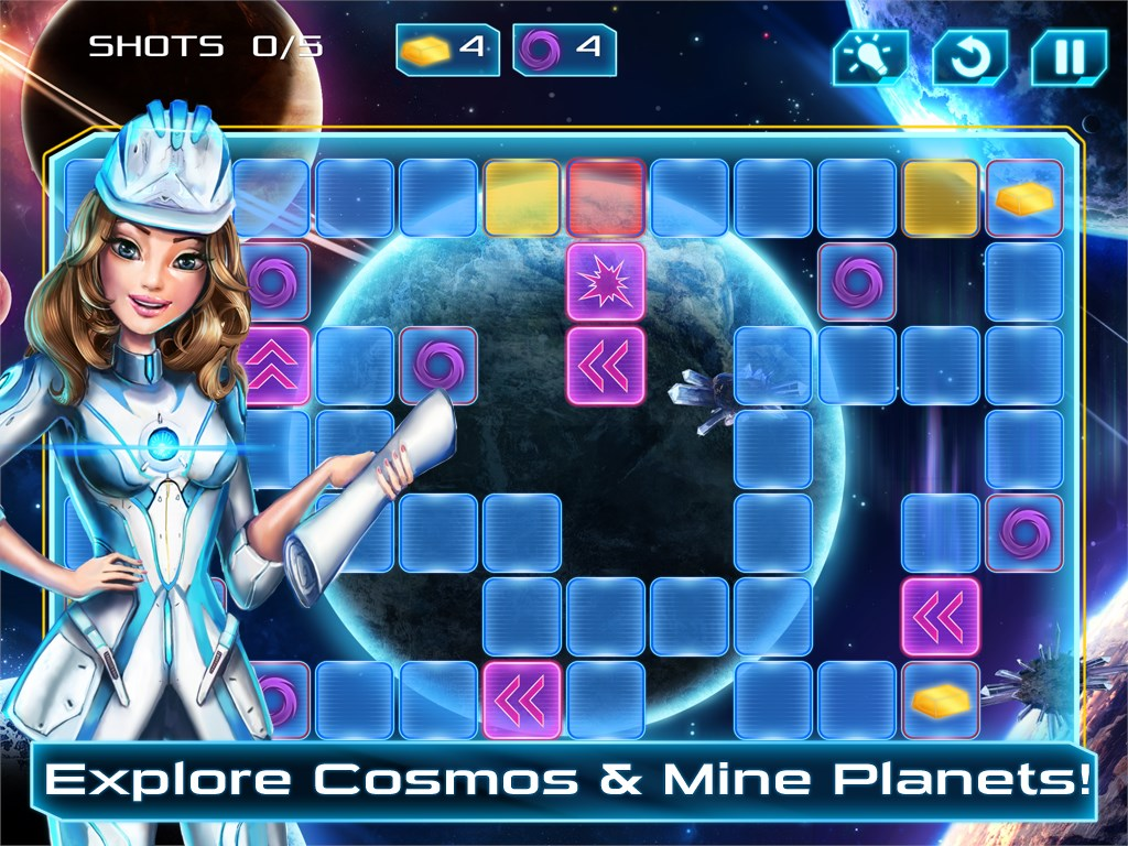 Space Laser - Puzzle Explosion - Imagem 1 do software
