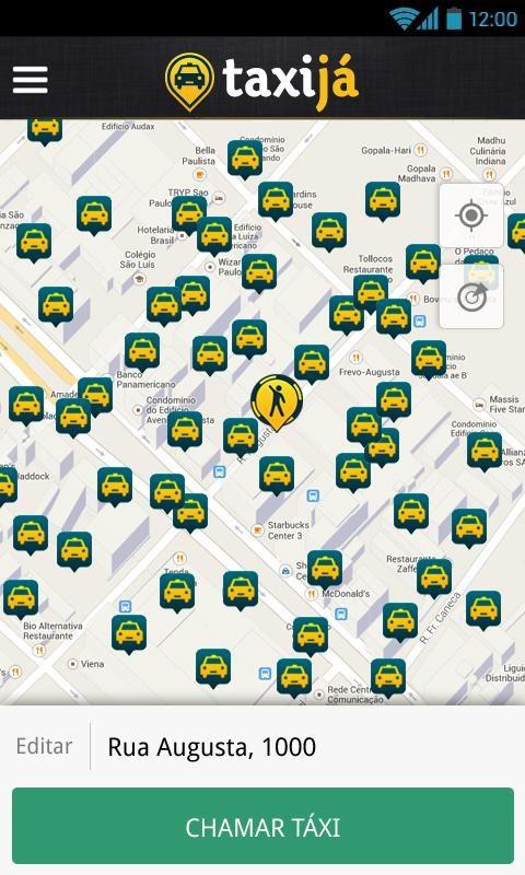 Taxijá - Taxi no Celular - Imagem 1 do software