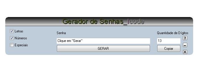 IGerador - Imagem 1 do software
