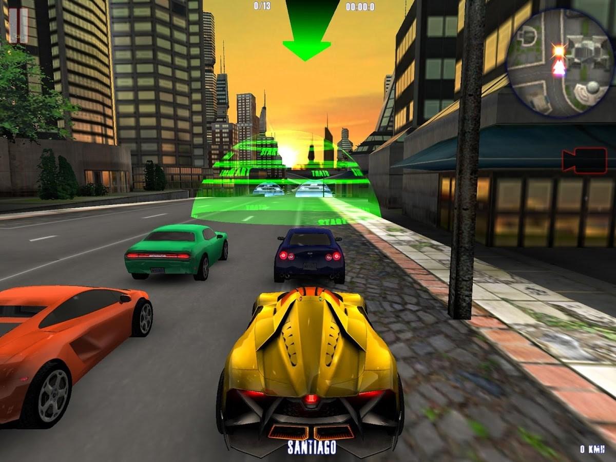 MIDTOWN CRAZY RACE - Imagem 1 do software