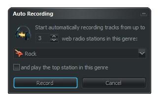 Configurando a gravação