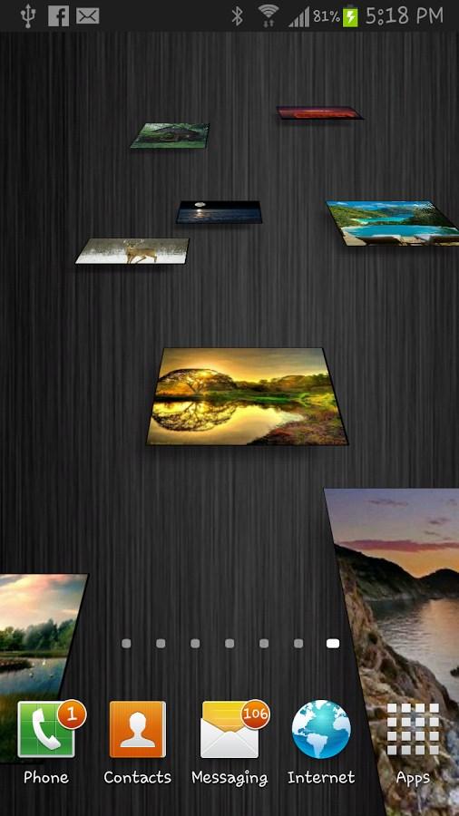 My Pictures Live Wallpaper - Imagem 2 do software