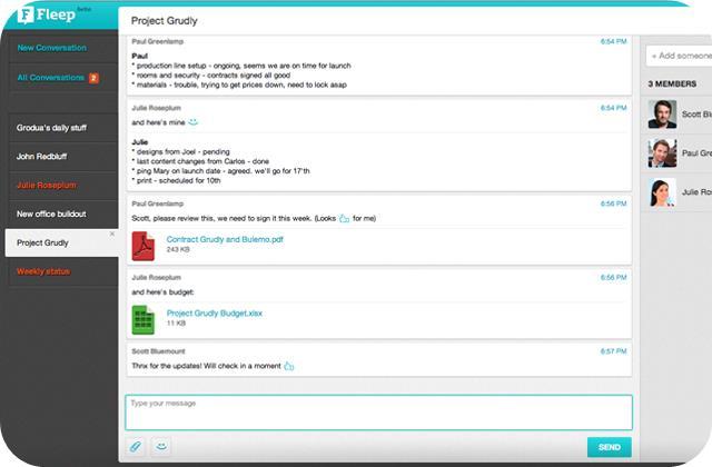 Fleep - Imagem 1 do software