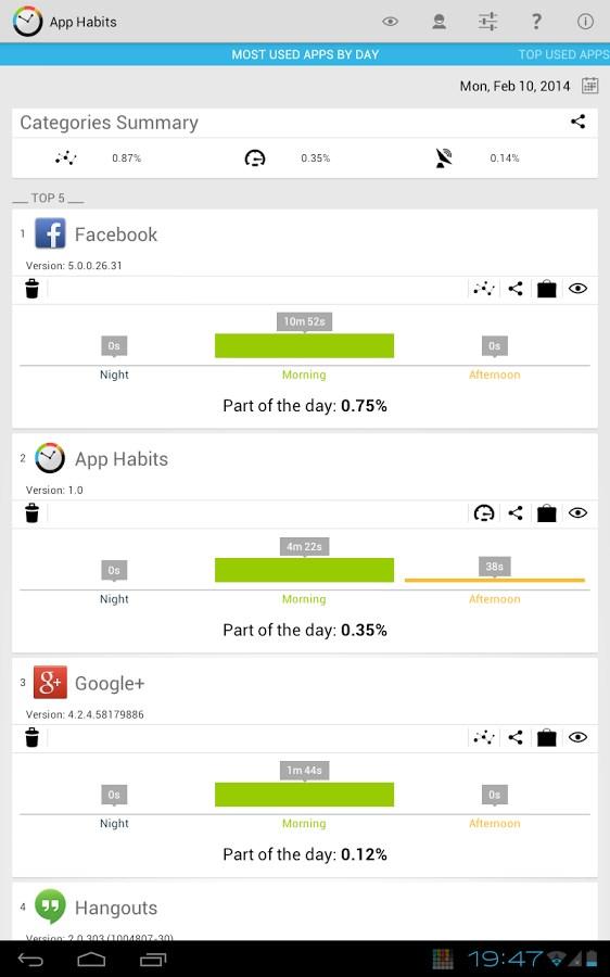 App Habits - Imagem 2 do software