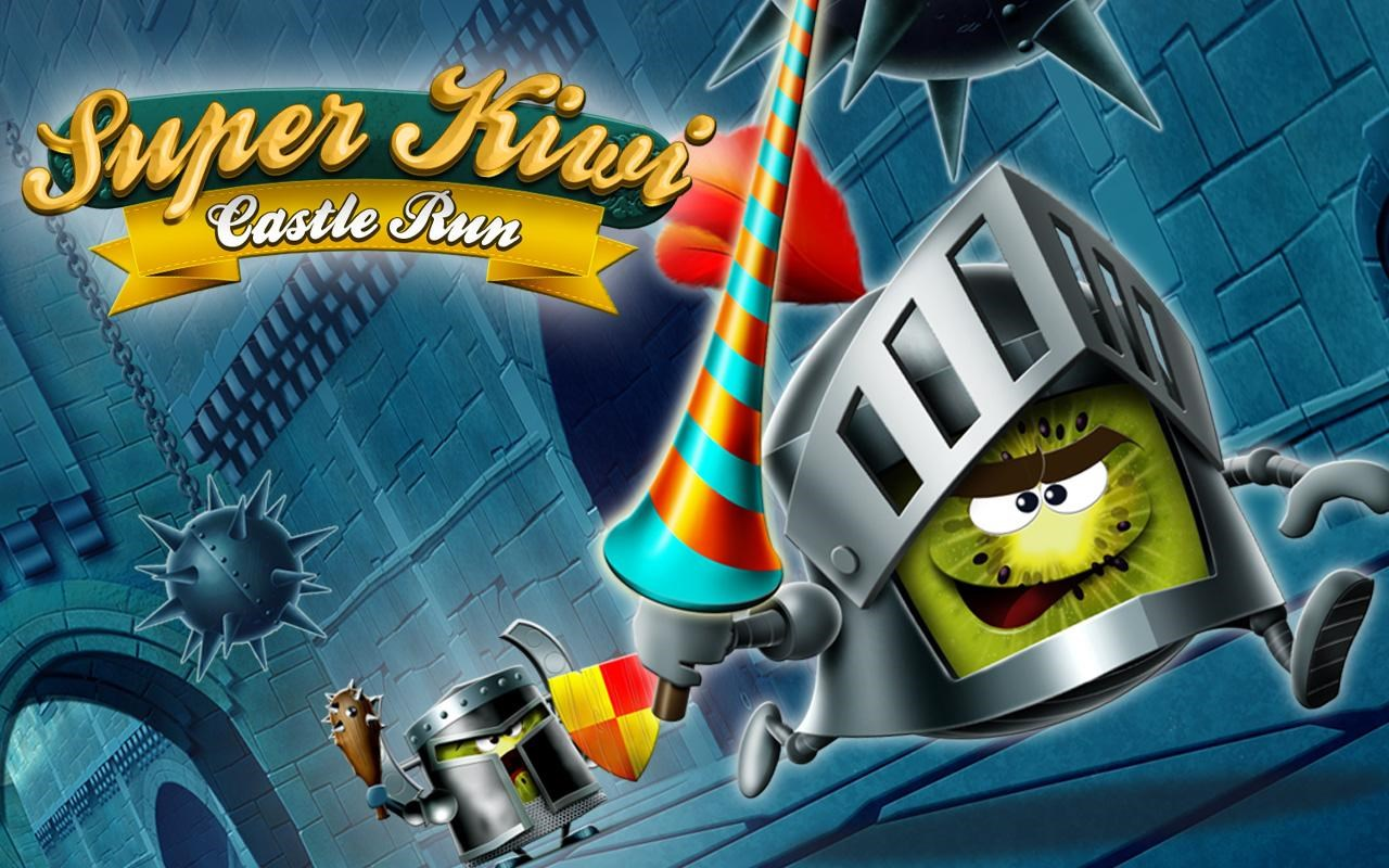 Super Kiwi Castle Run - Imagem 1 do software