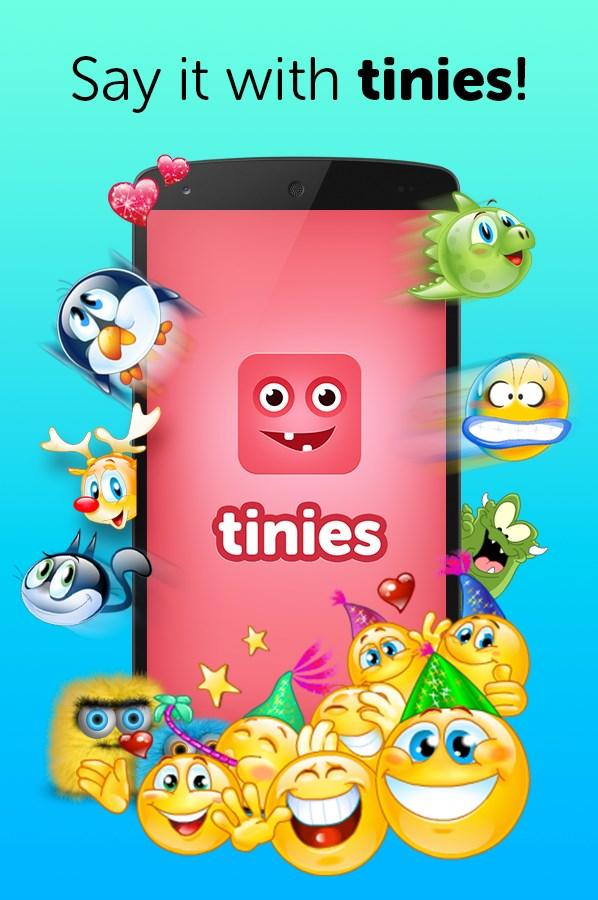 Tinies - Fun Emoticons App! - Imagem 1 do software