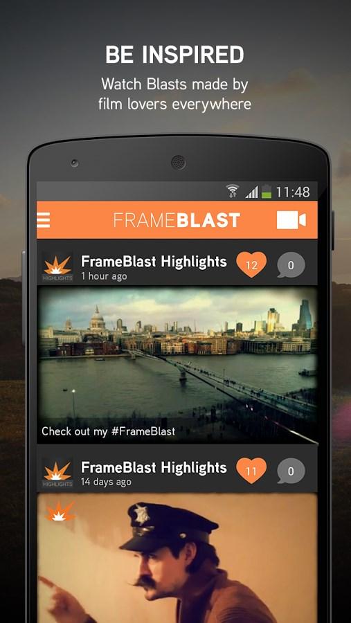 FrameBlast - HD Video Editor - Imagem 2 do software