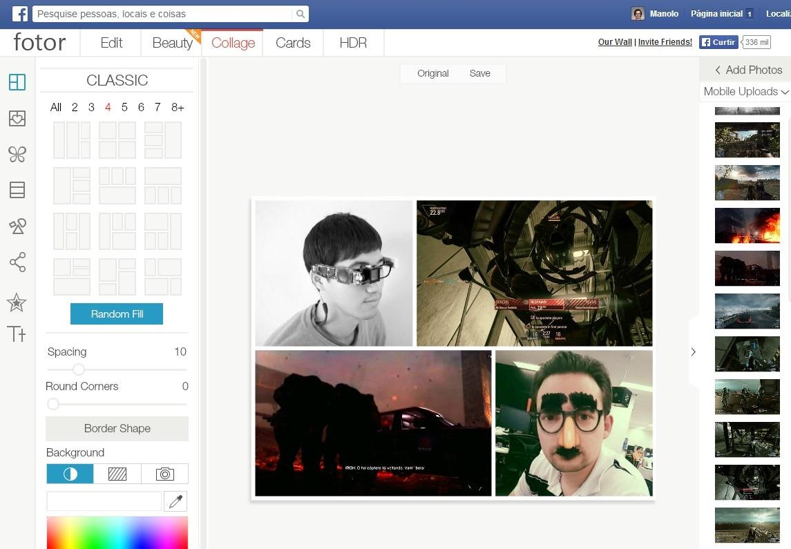 Fotor Photo Editor para Facebook - Imagem 1 do software