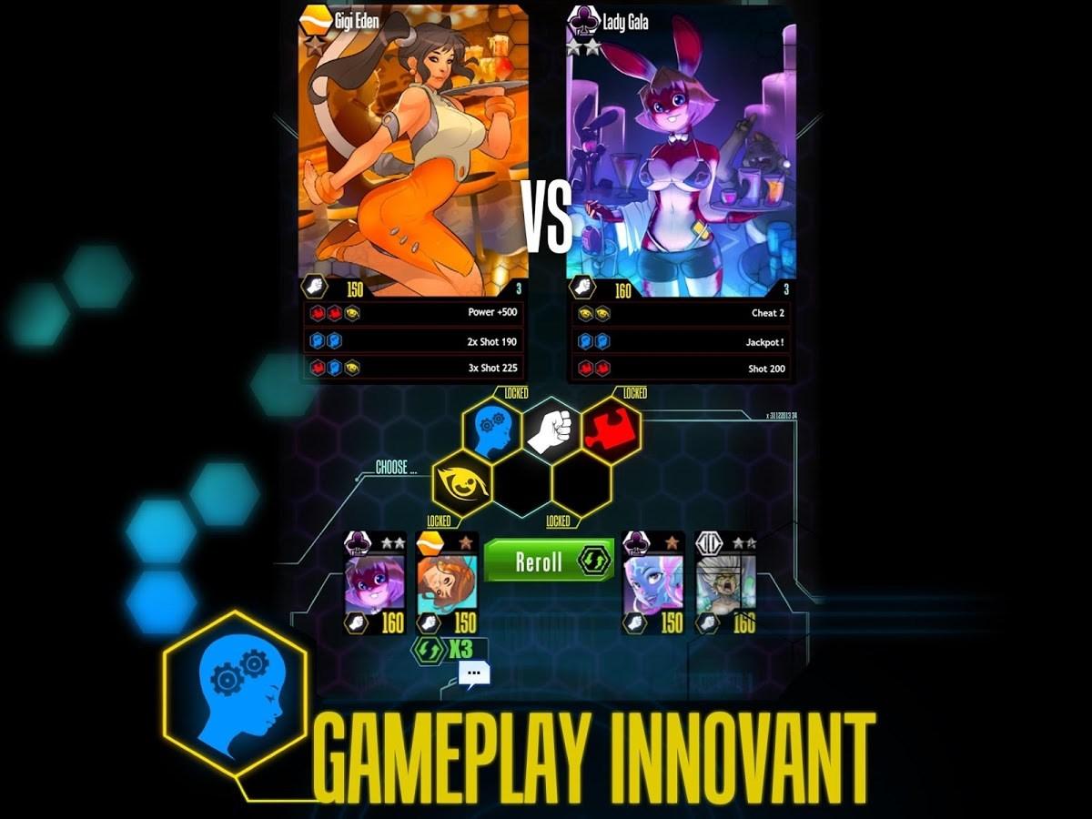 Battle G. Girls – Cards game - Imagem 1 do software