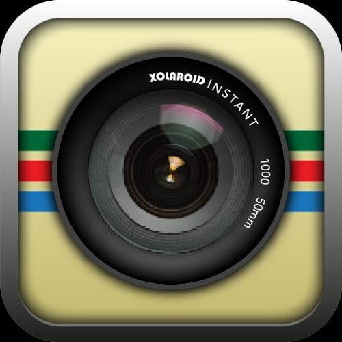 Logo Retro Camera ícone