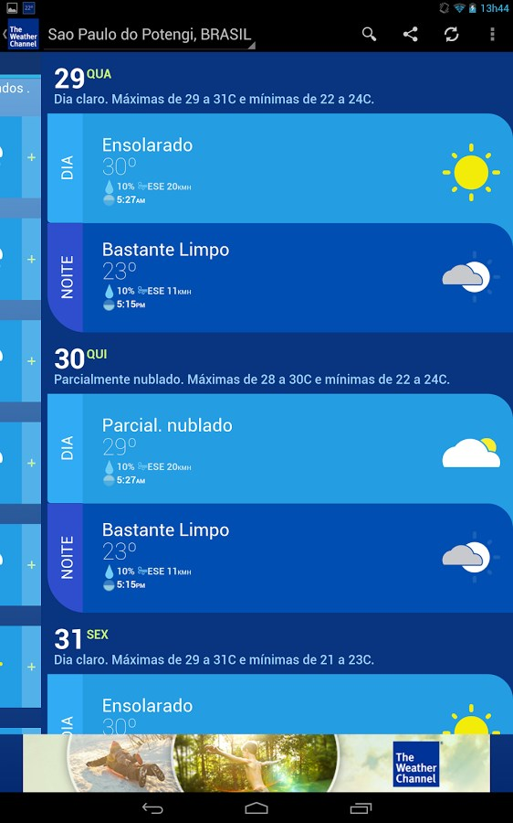 the weather channel download