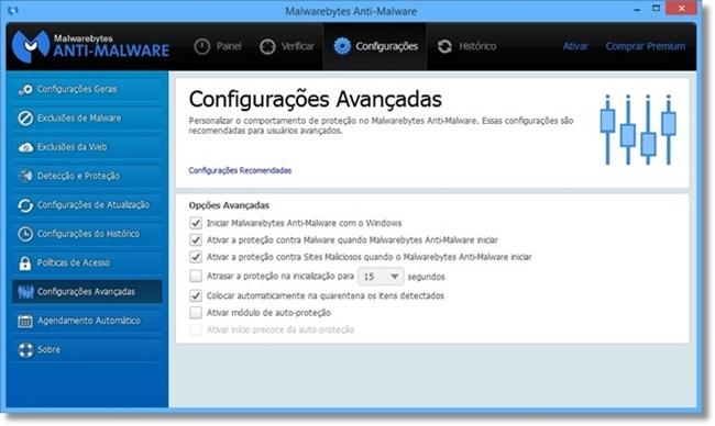 Malwarebytes Anti-Malware - Imagem 3 do software