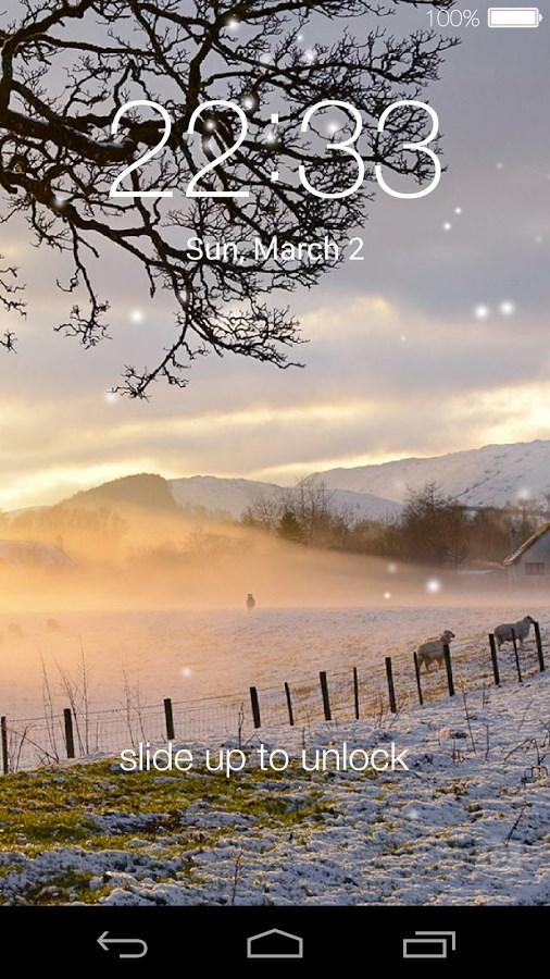 Lock screen(live wallpaper) - Imagem 2 do software
