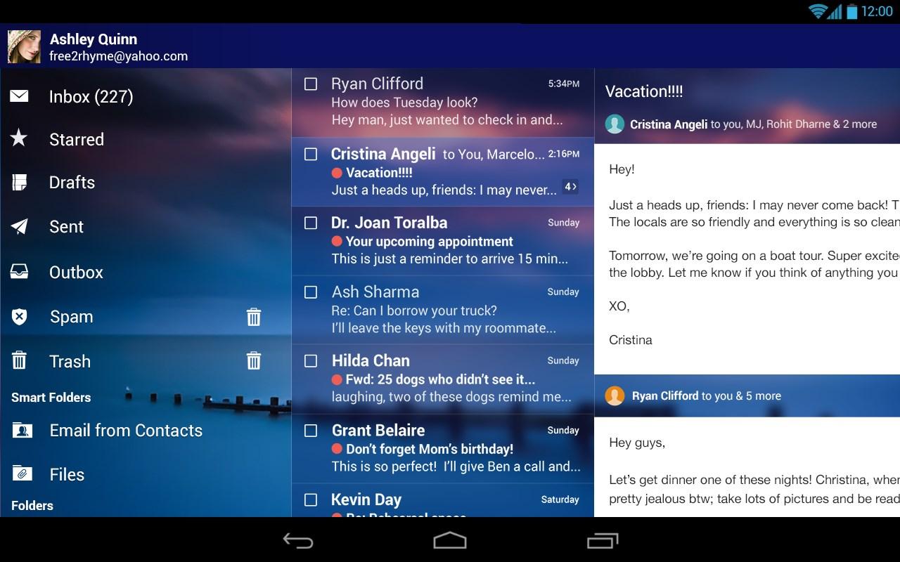 Yahoo Mail Download para Android em Português Grátis
