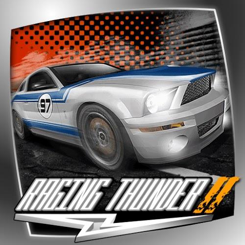 Logo Raging Thunder 2 Lite ícone