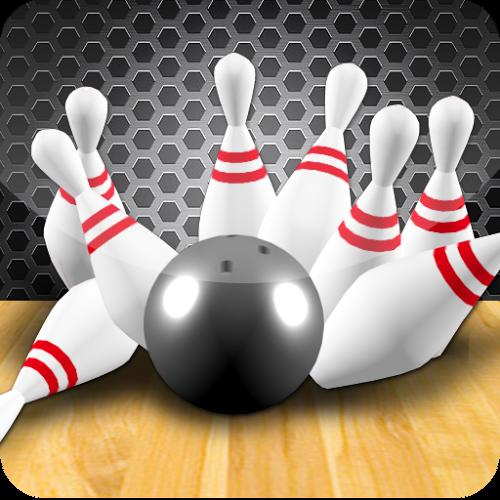 Logo 3D Bowling ícone