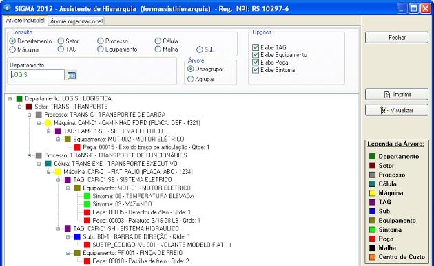 SIGMA - Sistema de Gerenciamento e Controle da Manutenção - Imagem 1 do software