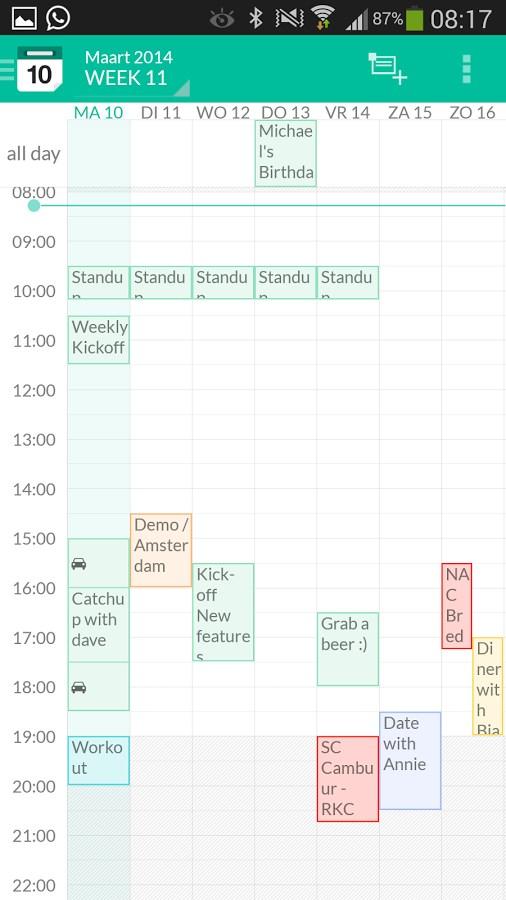 e-CAL Calendar - Imagem 1 do software