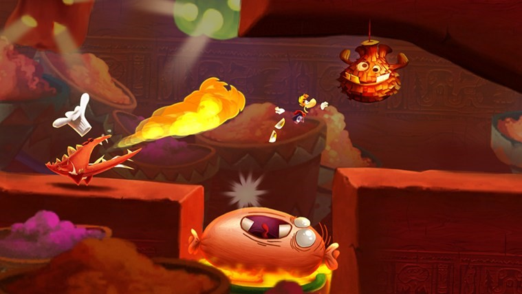 Rayman Fiesta Run.