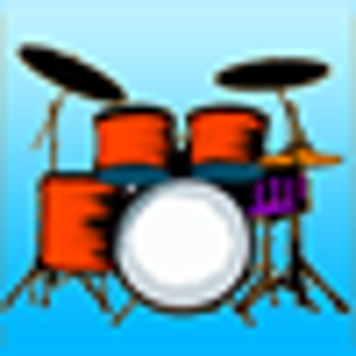 Logo Drum Kit ícone