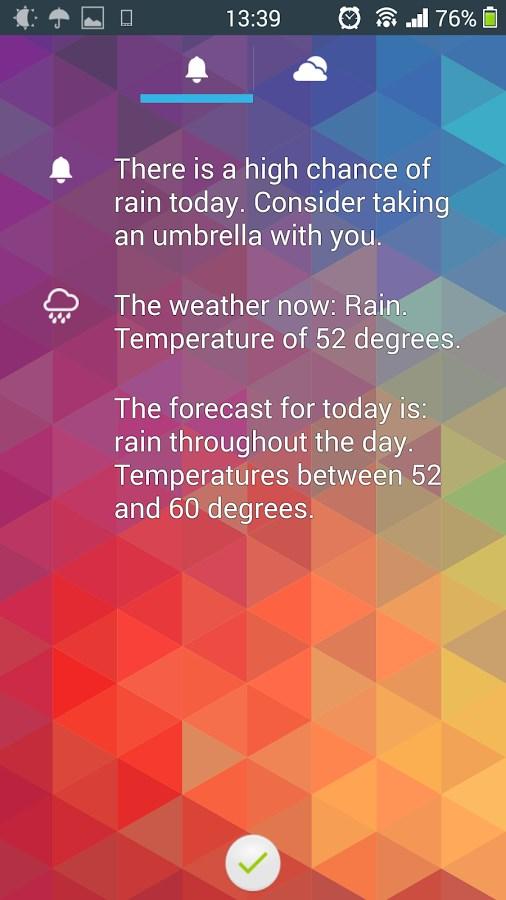 Remember the Umbrella PRO - Imagem 2 do software