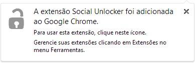 Social Unlocker - Imagem 1 do software