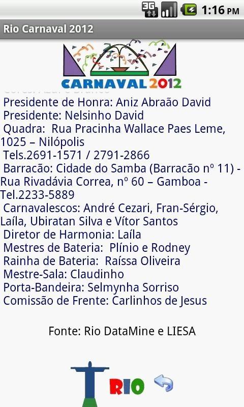 SAMBAS GRATIS 2012 BAIXAR ENREDO