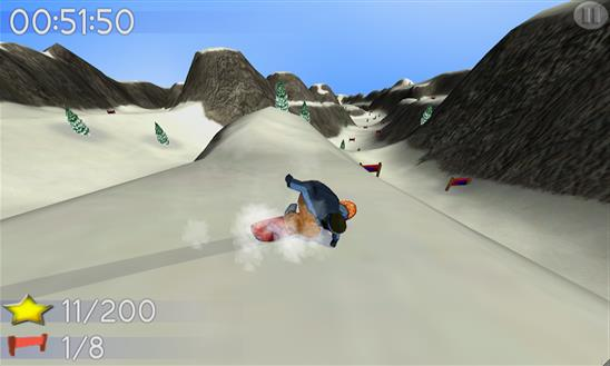 Big Mountain Snowboarding - Imagem 1 do software