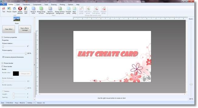 Easy Create Card - Imagem 2 do software