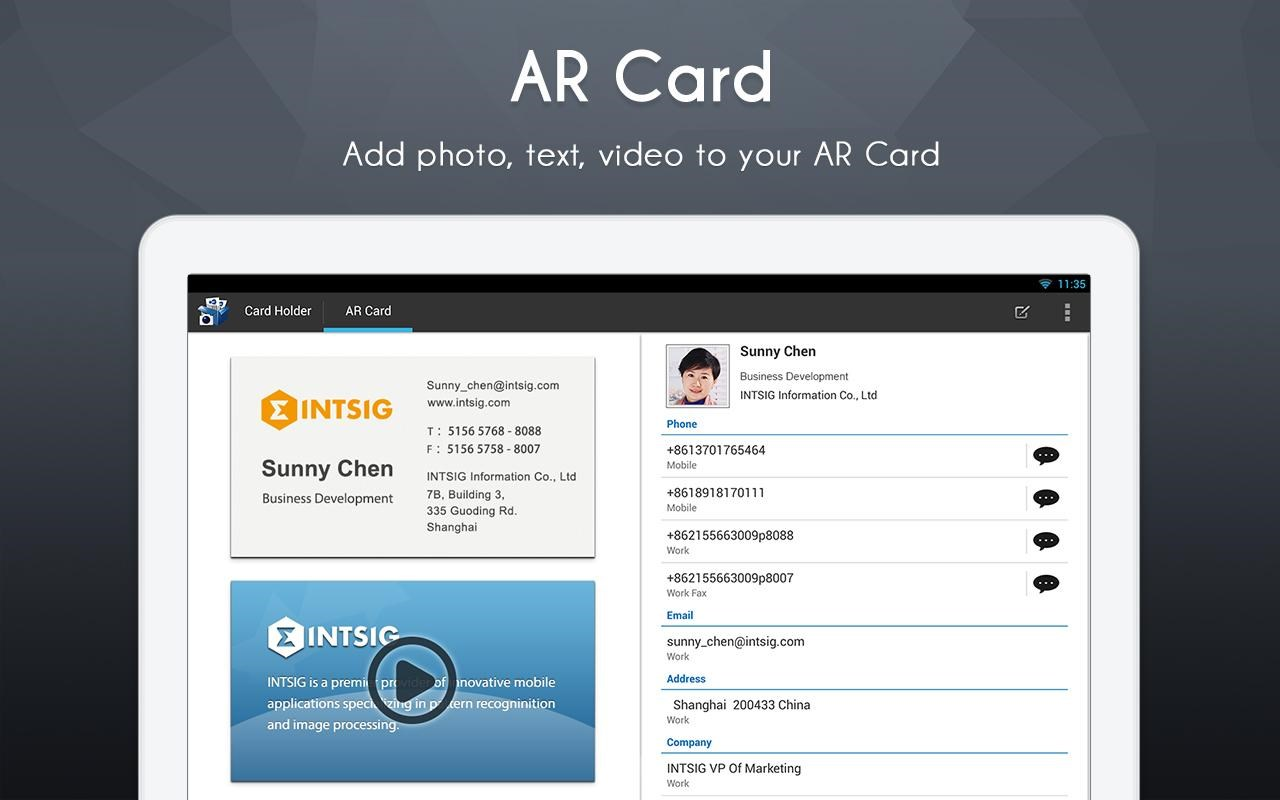 Camcard business card reader download imagem 4 do camcard business card reader reheart