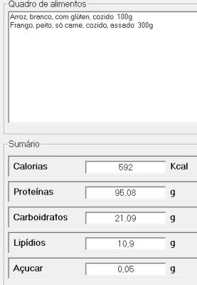 Acompanhamento Nutricional Diário - RegimeCerto - Imagem 1 do software