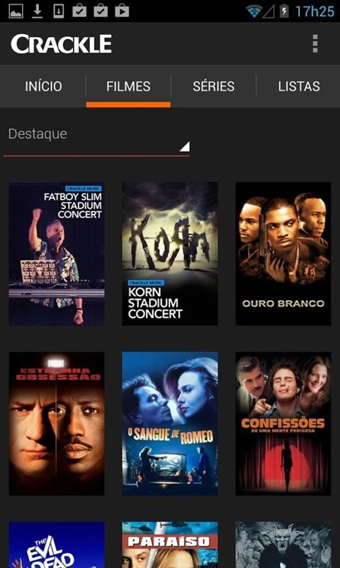 Crackle - Movies & TV Download para Android Grátis