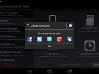 Imagem 8 do Zoner AntiVirus Free - Tablet